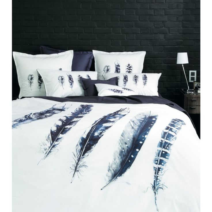 20 best linge de lit images on pinterest bedding beds and comforters. Black Bedroom Furniture Sets. Home Design Ideas