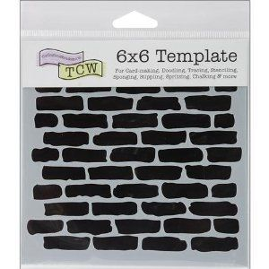 brick wall template