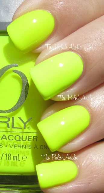 Glowstick!   The PolishAholic: Orly Summer 2012 Feel The Vibe Collection Swatches!