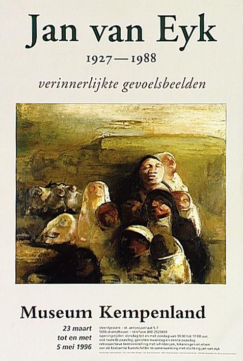 Retrospectieve tentoonstelling over het werk van Jan van Eyk in museum Kempenland