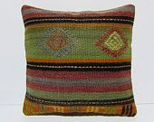 kilim rug pillow 18x18 antique pillow cover ethnic cushion oversized couch pillow indie throw pillow kilim throw pillow burlap cushion 30001