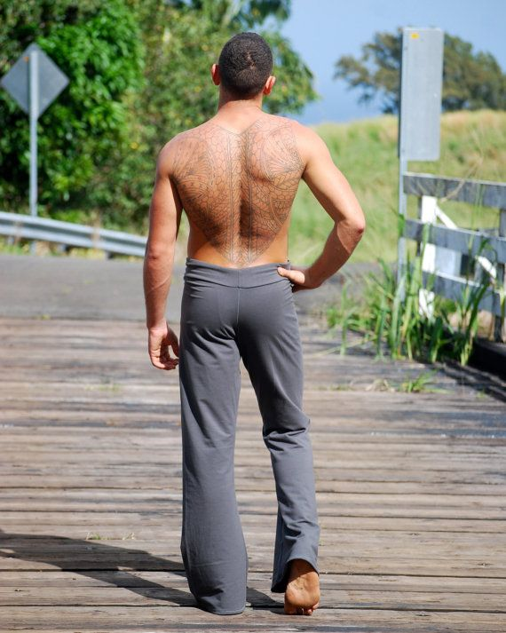 55dd843a71 Men's Yoga Pants - Lounge Pants - Eco Friendly - Organic Clothing ...