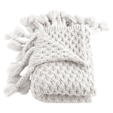 At The Foot Of Your Bed This Cozily Textured Throw