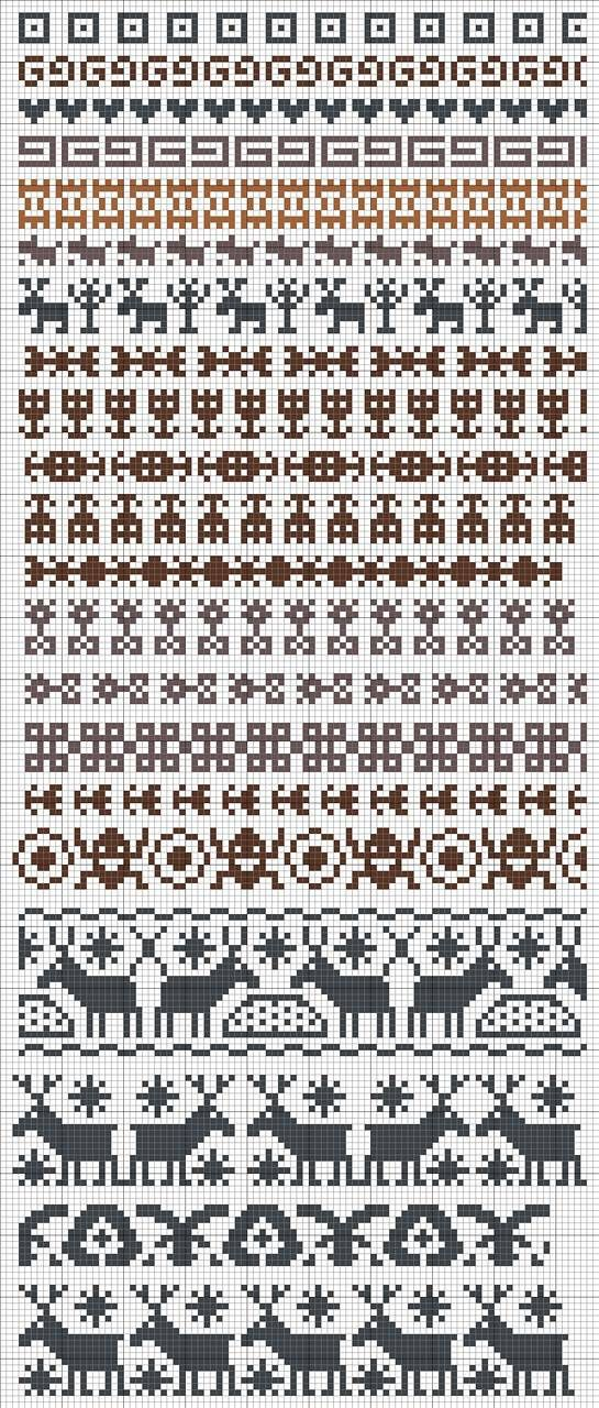 1934 best FAIR ISLE images on Pinterest | Embroidery, Loom and Model