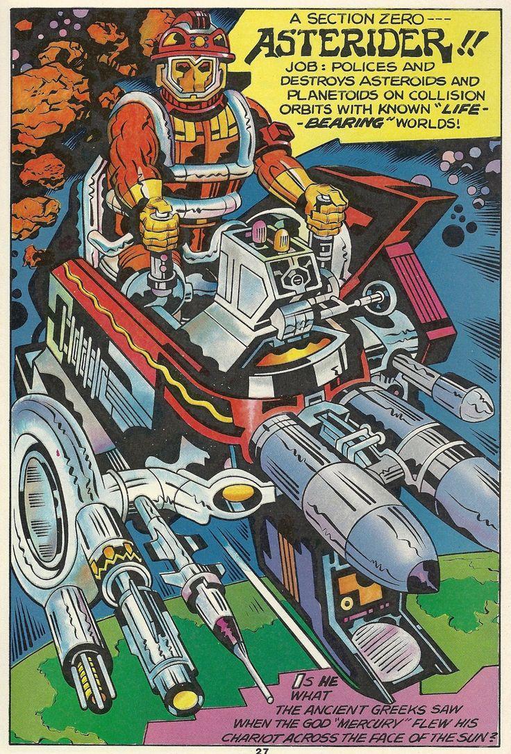 """Nessun disegnatore ha mai uguagliato la """"cosmicità"""" di Jack Kirby"""