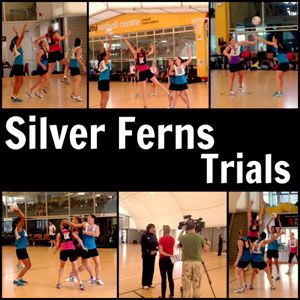 Senior Players work hard to maintain their Silver Ferns Selection