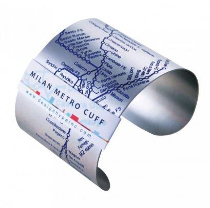 Milan Metro Cuff {blue} by Designhype on The Bazaar