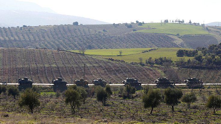 ICYMI: Video: Convoy militar turco entra en la provincia de Alepo y se acerca a las tropas sirias