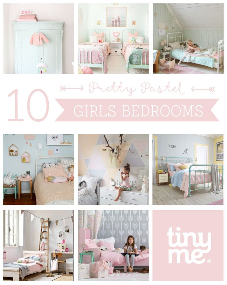 10 Pretty Pastel Girls Rooms ~ Tinyme