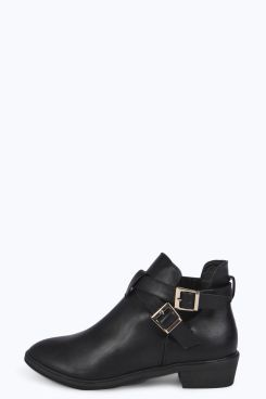 Tilly Wrap Strap Festival Ankle Boot