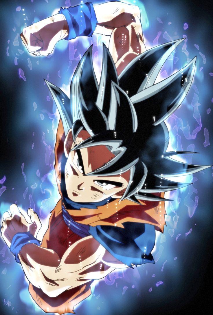 Goku Ultra Instinto (Universo 7) Dragon ball art, Dragon