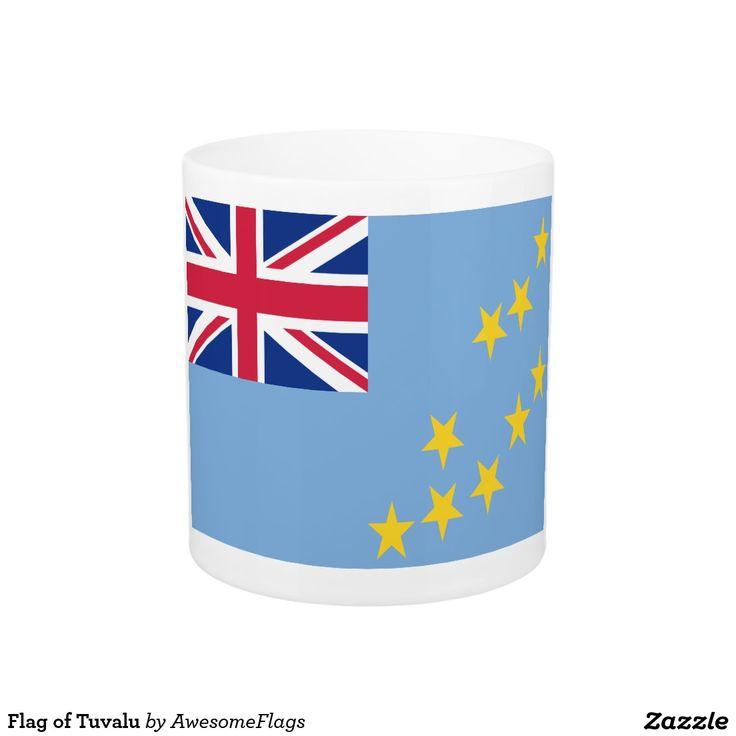Flag of Tuvalu Basic White Mug