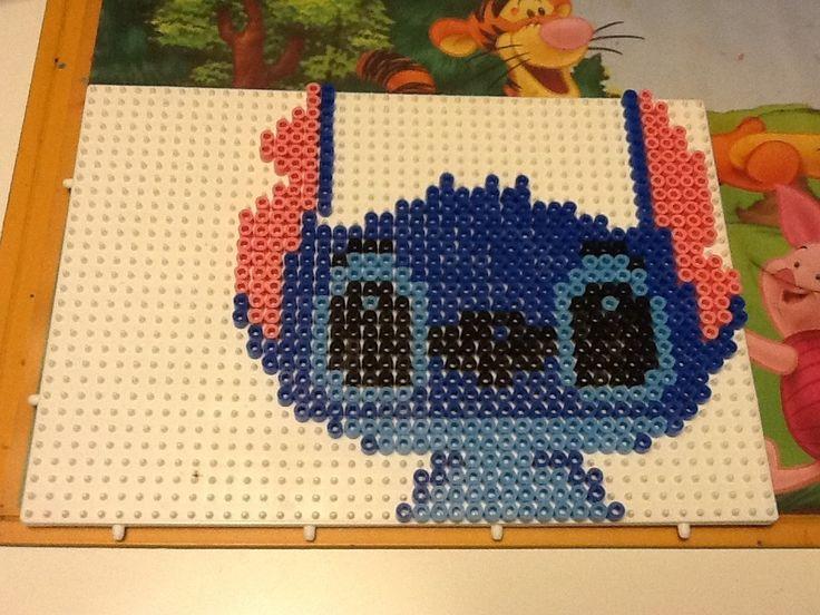 Disney Stitch hama beads by Randi Frederiksen