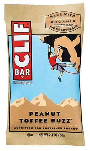 Clif Bar Energy Bar, Peanut Toffee Buzz, 2.4-Ounce Bars, 12 Count (Pack of 2) >>> Details can be found by clicking on the image.