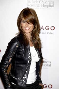 Long Hairstyles with long side swept bangs