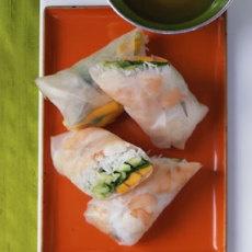 Mango Shrimp Summer Rolls Recipe   Yummly
