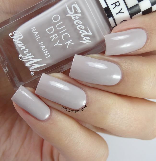 Barry M Nail Polish Matte White Review - Creative Touch