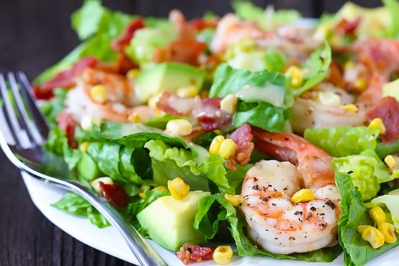 Shrimp avocado, Roasted corn and Roasted corn salad on Pinterest