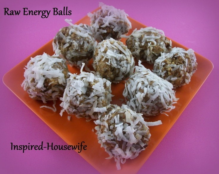 how to make energy balls with dates