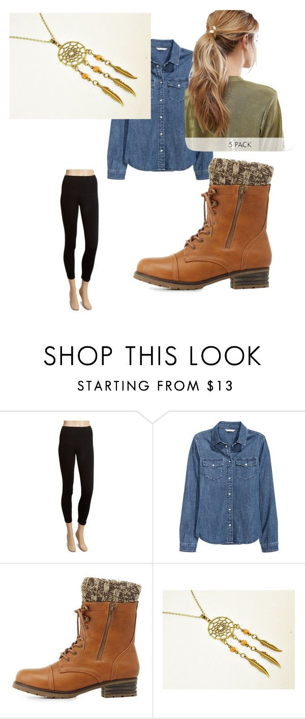 """""""School dayz"""" by ashley-ray30 ❤ liked on Polyvore featuring Marilyn Monroe Intimates, H&M, Charlotte Russe and Kitsch"""