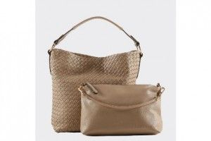 Thursday's Lady is all about accessories | Indian Summer Baby Paris putty handbag