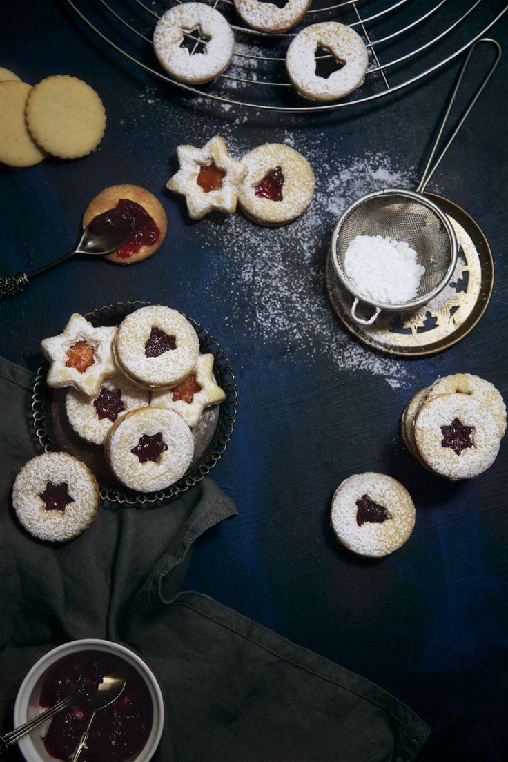 St[v]ory z kuchyne | Linzer Cookies