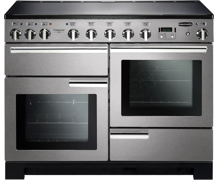 Rangemaster PDL110EISS/C Professional Deluxe 110cm Electric Range Cooker - Stainless Steel