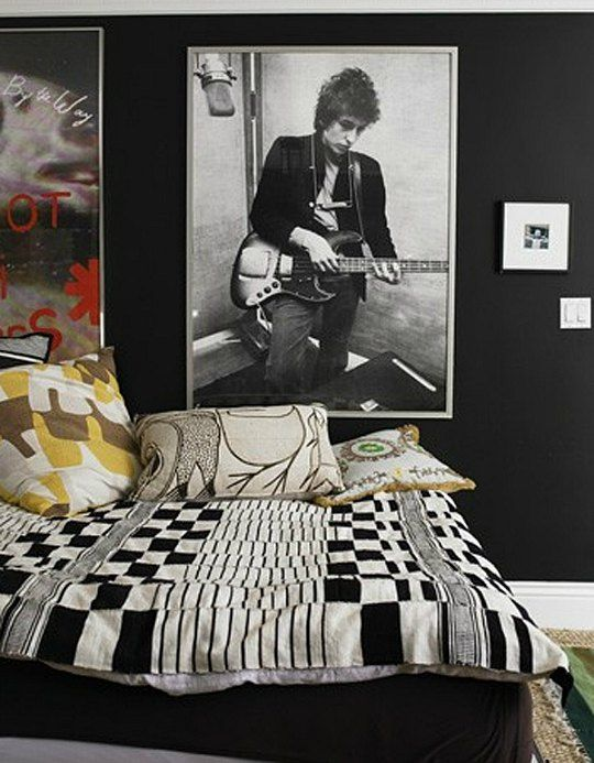 Bedroom Decor Black N White 101 best cuarto jovenes images on pinterest | youth rooms, home