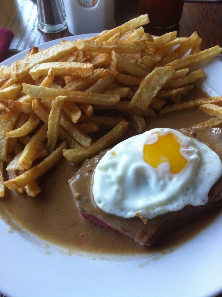 Best steak, eggs and fries