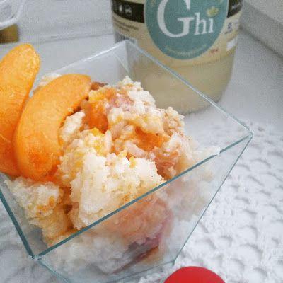 Dětem zdravě: Rýžový nákyp s meruňkami (vhodný od 1 roku)