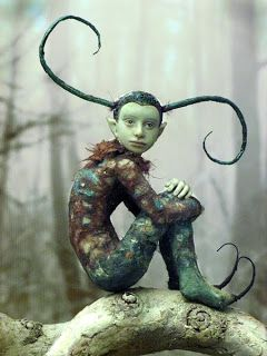 Fantasy | Whimsical | Strange | Mythical | Creative | Creatures | Dolls | Sculptures | by Tatjana Raum (Chopoli-Art) http://www.chopoli.com/index.htm