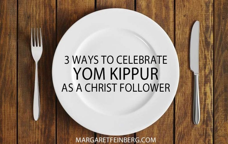 Check out this blog post: 3 Ways to Celebrate Yom Kippur as a Christ Follower - http://margaretfeinberg.com/3-ways-to-celebrate-yom-kippur-as-a-christ-follower/ #YomKippur