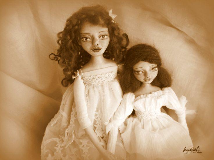 Clay Art Dolls by Kymeli