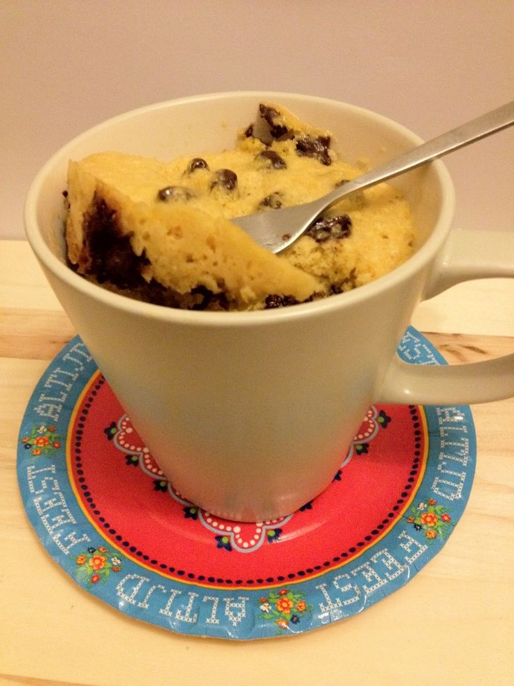 Chocolate Chip Cake in 3 minuten - Lekker en Simpel