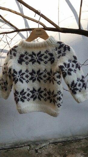 Dejlig forårs sweaters til børn. I den blødeste alpaca