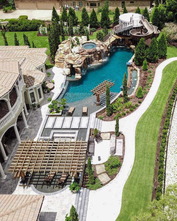 Insane Pools Tv Episode Welcome To The Jungle Lucas Lagoons Swimming Pool Architecture Backyard Inspo Big Pools