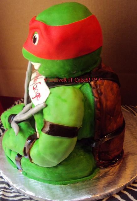 17 Best Images About Ninja Turtle Cake On Pinterest Cake