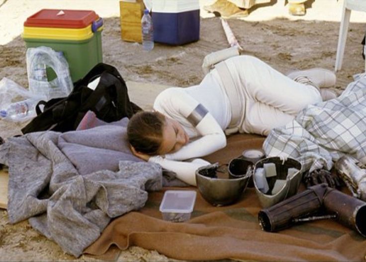 Behind the scenes of Attack of the Clones: Natalie Portman