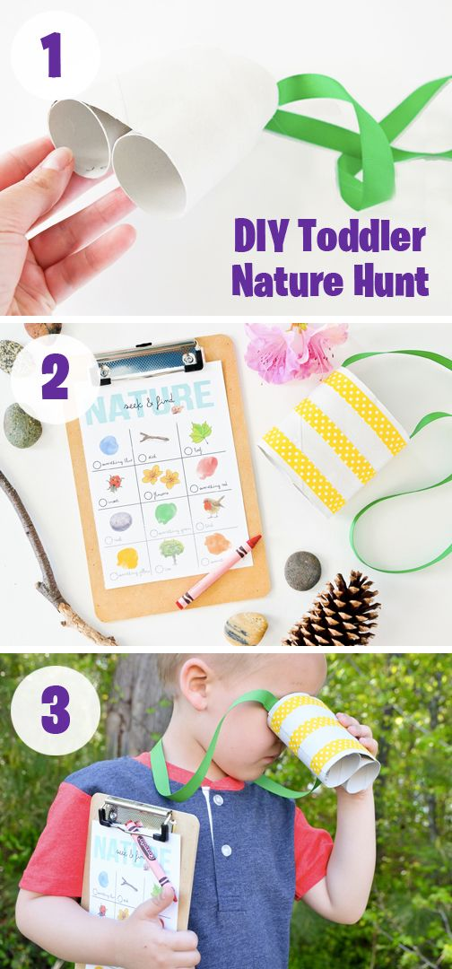 Mom's of multiples know that activities that require your kids to get outside and out of your hair are true gems!  With this DIY Toddler Nature Hunt your little ones may be looking for fun outdoor objects but you won't have to find any other way to occupy your rambunctious kiddos. This super simple craft becomes one of our favorite summer activities.