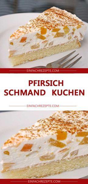AMAZING PEACH – SCHMAND – CAKES