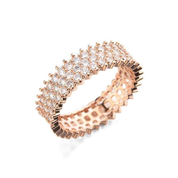 Австралия лучший продажа micro-обступило необычные кольца с красивым дизайном медные кольца для девочек
