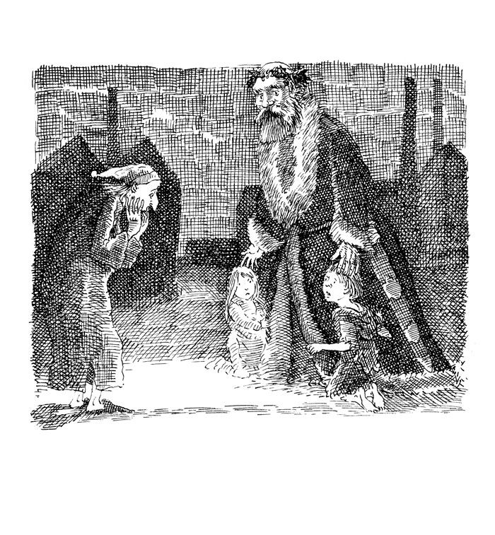 transformation of ebenezer scrooge in a christmas carol Ebenezer scrooge's transformation morose to happy scrooge changes from morose (having a sullen and ill-tempered disposition) to happy towards fred.