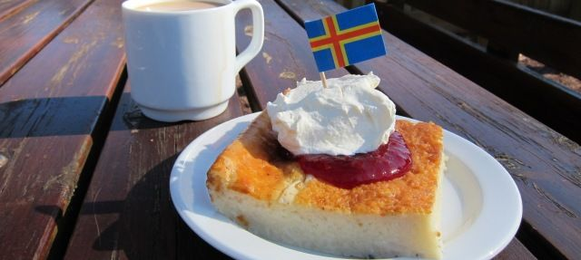 Åland Pancake - This deliciously filling local snack and dessert is popular in…