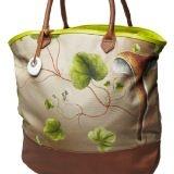 Pretty bag w floral print
