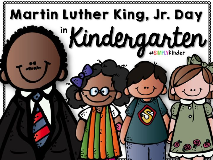 Martin Luther King Day Activities - Free Reader from #SimplyKinder