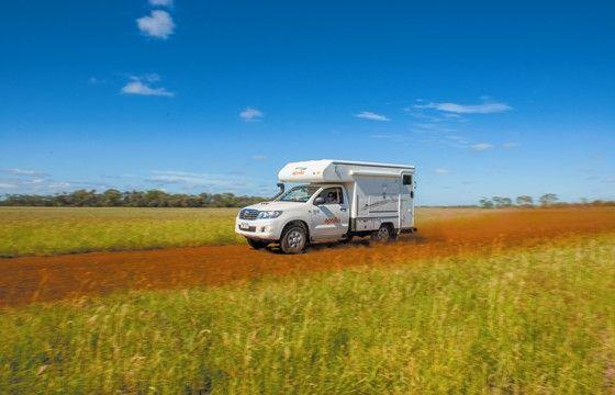 Apollo's Adventure Camper - 2 Berth #Campervan Hire Australia - A 4wd vehicle