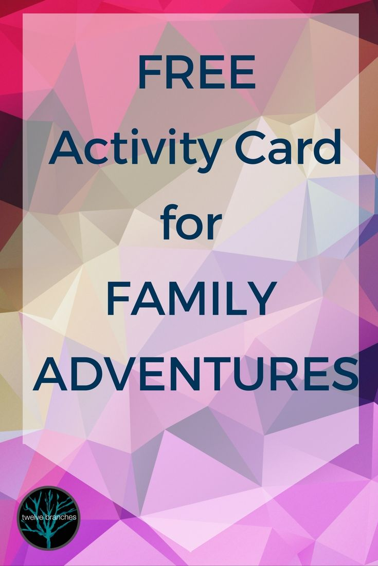 Check out this great freebie to get you out having some quality time with the family