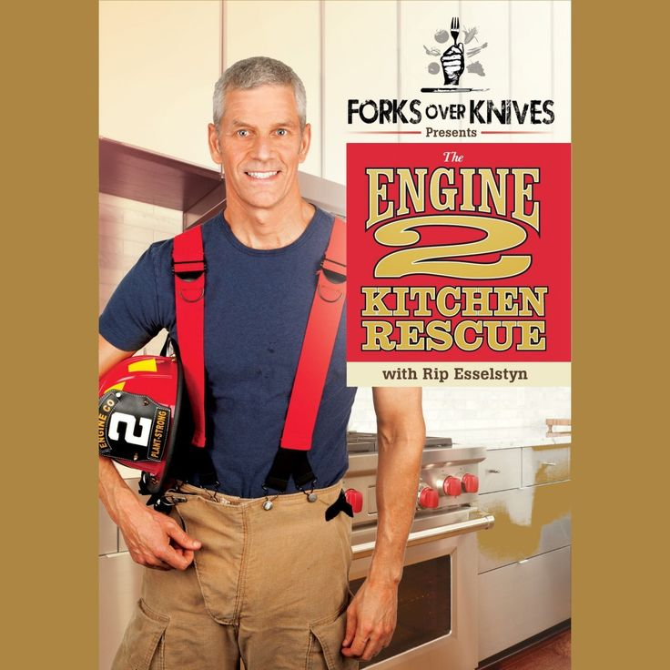 Engine 2 Diet Online Store -   The Engine 2 'Kitchen Rescue' with Rip Esselstyn DVD:  Learn to Live Plant-Strong!, $19.99 (http://store.engine2diet.com/2the-engine-2-kitchen-rescue-with-rip-esselstyn-dvd-learn-to-live-plant-strong/)