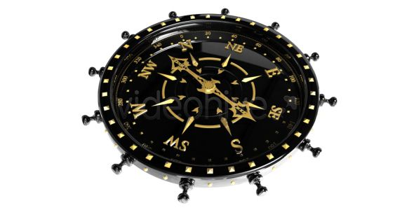 Black and Gold Compass (Compass 19)