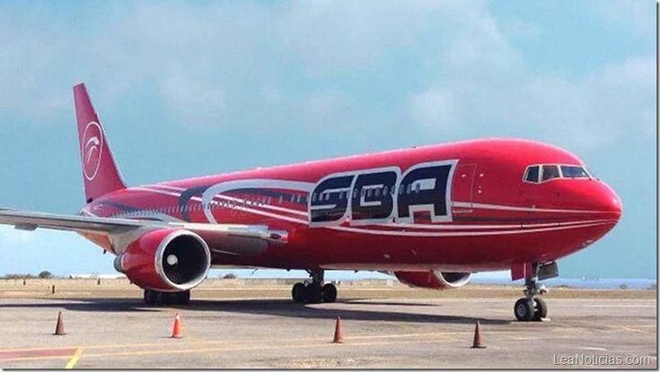 Santa Bárbara Airlines desmintió rumores sobre el cese de sus operaciones - http://www.leanoticias.com/2017/11/21/santa-barbara-airlines-desmintio-rumores-sobre-el-cese-de-sus-operaciones/